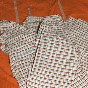 LL BEAN Mens pajama set